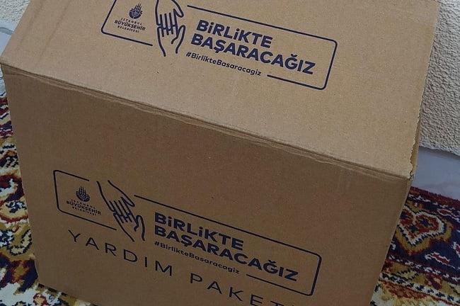 istanbul belediyesi gıda yardımı başvurusu